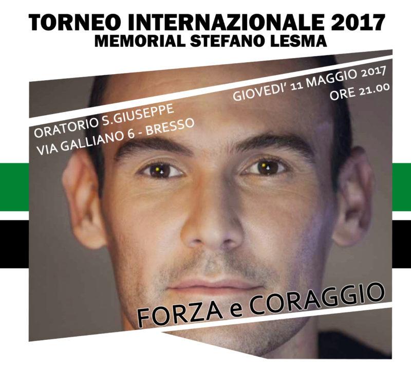 Memorial Stefano Lesma – All'inaugurazione ci sarà Giacomo Sintini