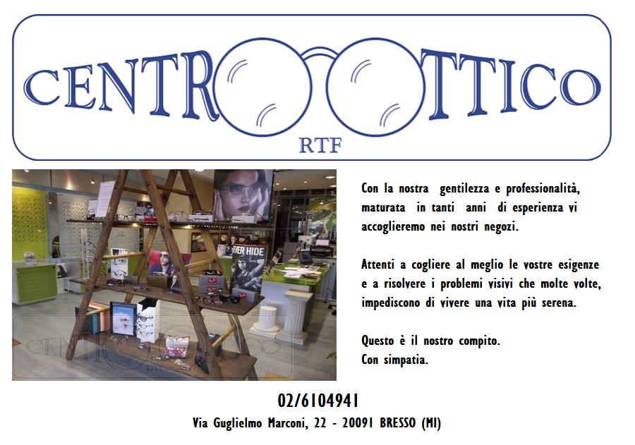 Sostenitori Artistica: Centro Ottico RTF