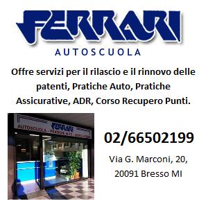 Sostenitori Artistica: Autoscuola Ferrari