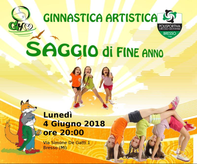 Saggio Fine Anno Artistica 2017-18