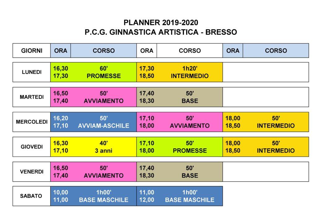 Calendario Scolastico 2020 20.Calendario Polisportiva Circolo Giovanile Bresso