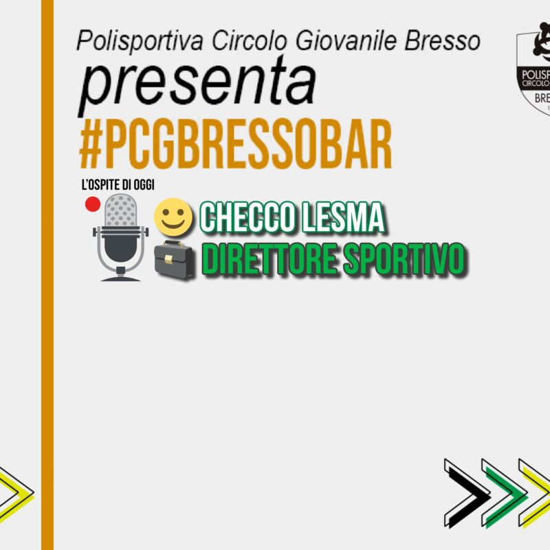 PCG BAR con… Checco Lesma