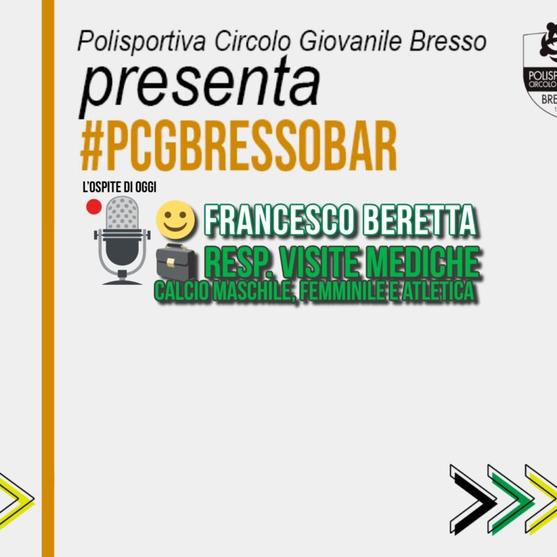 PCG BAR con… Francesco Beretta