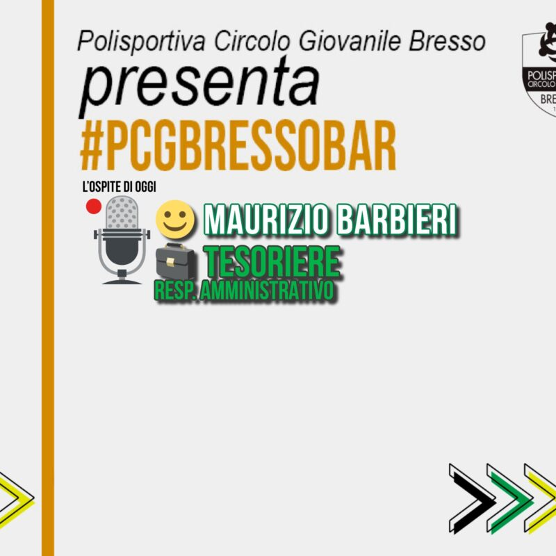 PCG BAR con… Maurizio Barbieri