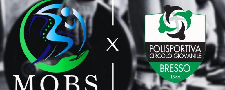 A NEW COLLAB: PCG BRESSO & STUDIO MOBSper crescere INSIEME